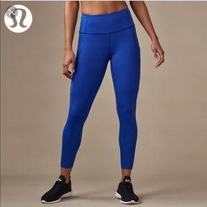 Royal Blue Lululemon Leggings Size 6